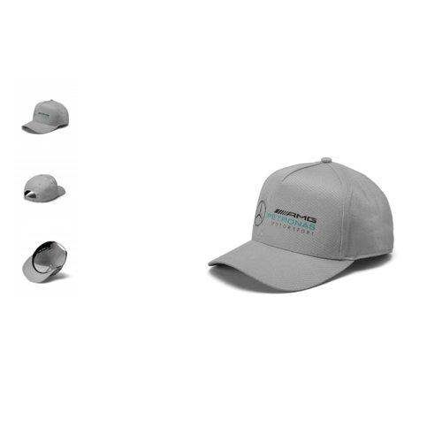 Mercedes Mercedes Racer Cap Grijs
