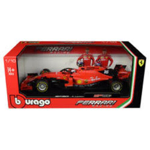 Ferrari Ferrari Burago Leclerc 2019  1:18