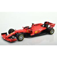 Ferrari Schaalmodel Vettel 2019  1:18