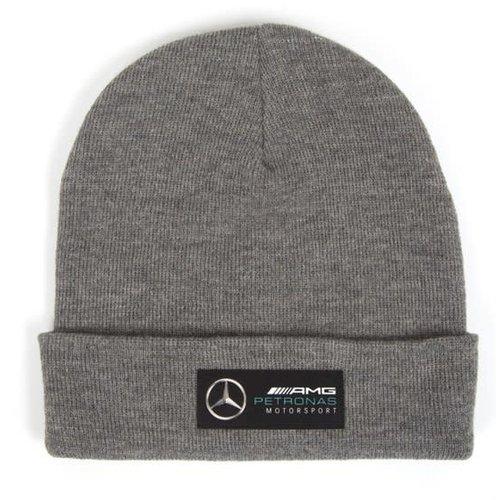 Mercedes Mercedes Beanie Grijs