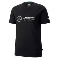 Mercedes Puma logo Tee Zwart