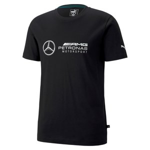 Mercedes Mercedes Puma logo Tee Zwart