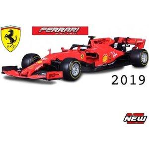 Ferrari Burago 1:43 Vettel 2019