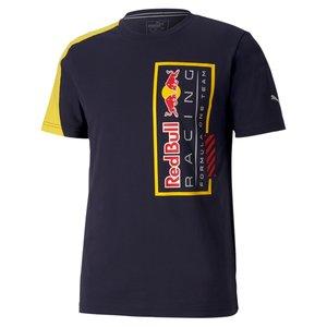 Red Bull Racing RBR Logo tee Geel Blauw