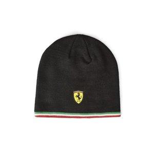 Ferrari Ferrari Muts / Beanie Italian Strip Zwart