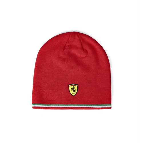 Ferrari Ferrari Muts / Beanie Italian Strip Rood