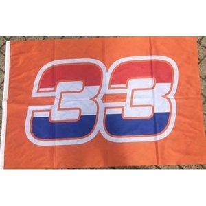 Oranje vlag 33
