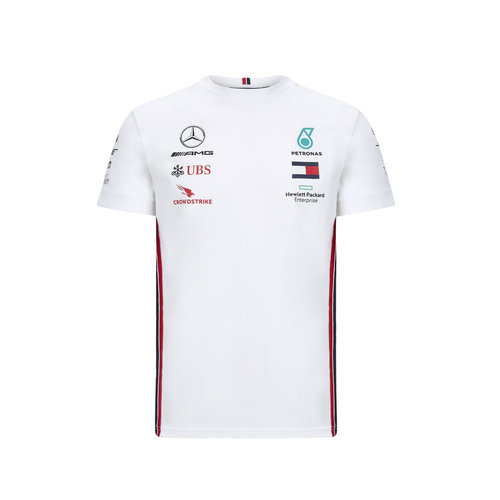 Mercedes Mercedes Teamline Shirt Wit 2020