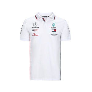 Mercedes Mercedes Teamline Polo Wit 2020