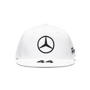 Mercedes Mercedes Lewis Hamilton Cap Plat Wit 2021