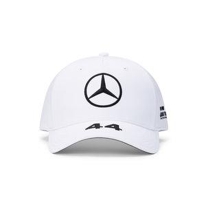 Mercedes Mercedes Lewis Hamilton Cap Bol Wit 2021