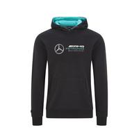 Mercedes Logo Hoody Zwart
