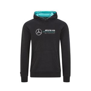 Mercedes Mercedes Logo Hoody Zwart