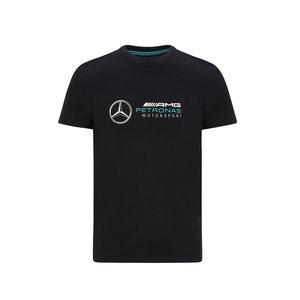 Mercedes Mercedes Logo Shirt Zwart