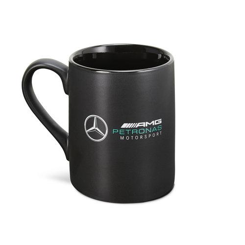 Mercedes Mercedes Logo Mok Zwart