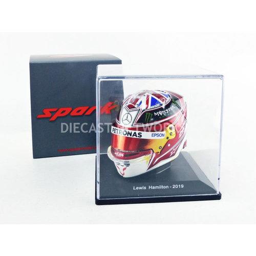 Spark Lewis Hamilton Helm 2019 Spark 1:5