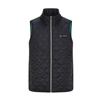 Mercedes Gilet Padded Black 2020