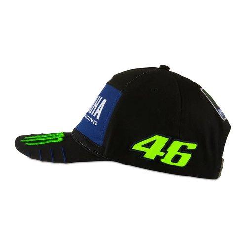 Valentino Rossi VR46 MENS  MID VISOR CAP BLACK 2020