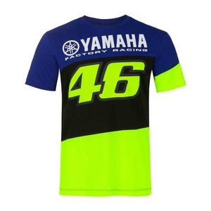 Valentino Rossi VR46 MENS RACING T-SHIRT BLUE 2020