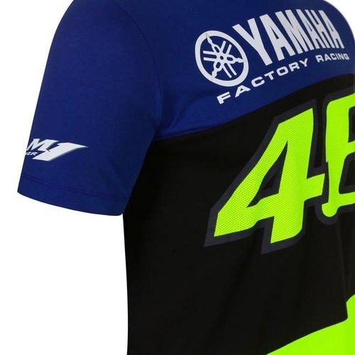 Valentino Rossi VR46 MENS RACING T-SHIRT BLUE 2020