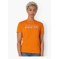 Red Bull Racing Oranje Shirt Dames 2020