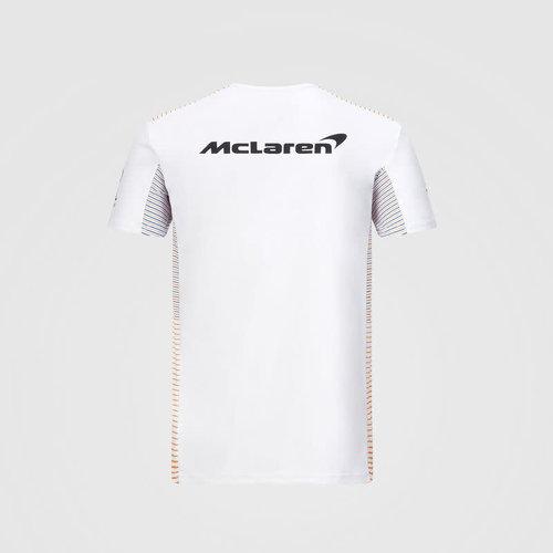 MClaren Team Shirt Wit 2020