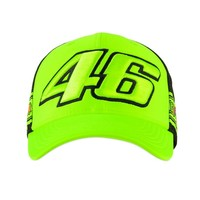 Valentino Rossi Cap Geel 46 The Doctor strip 2020