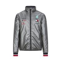Mercedes Padded Jacket Zilver