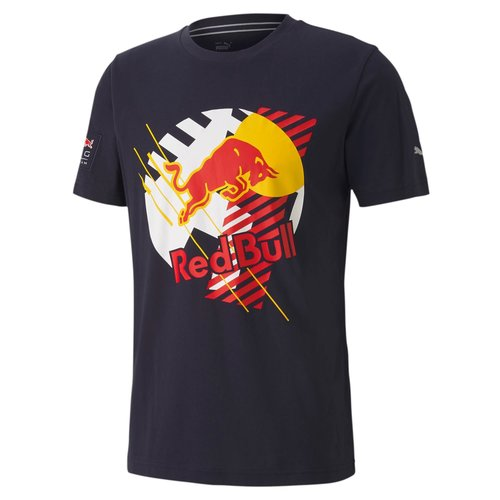 Red Bull Racing Red Bull Racing Dynamic T-shirt Blauw
