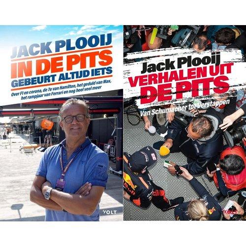 Jack Plooij Boekenvoordeel 2 stuks Verhalen uit de Pits & In de pits gebeurt meer