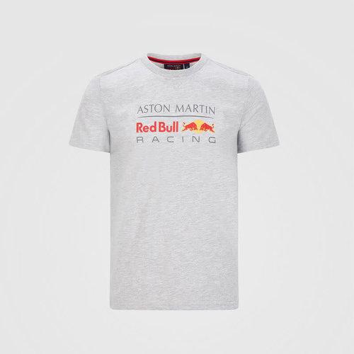 Red Bull Racing Red Bull Racing Mens Large Logo Tee Grijs