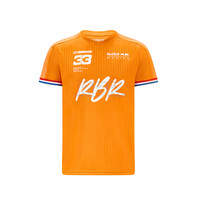 Red Bull Racing oranje shirt Max Verstappen 2021