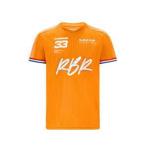 Red Bull Racing Red Bull Racing oranje shirt Max Verstappen 2021