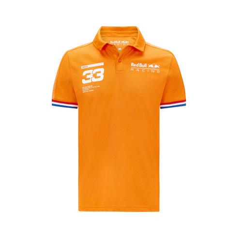 Red Bull Racing Red Bull Racing Verstappen polo orange 2021