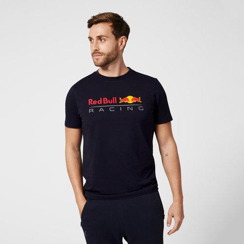 Red Bull Racing Red Bull Racing Logo T-shirt blauw 2021