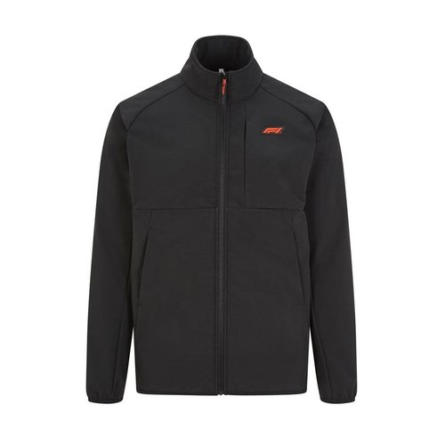 Formule 1 F1 FW TECH Softshell Jack black 2021