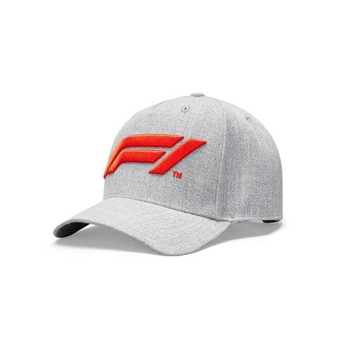 Formule 1 F1 Large Logo Baseball Cap Grijs 2021