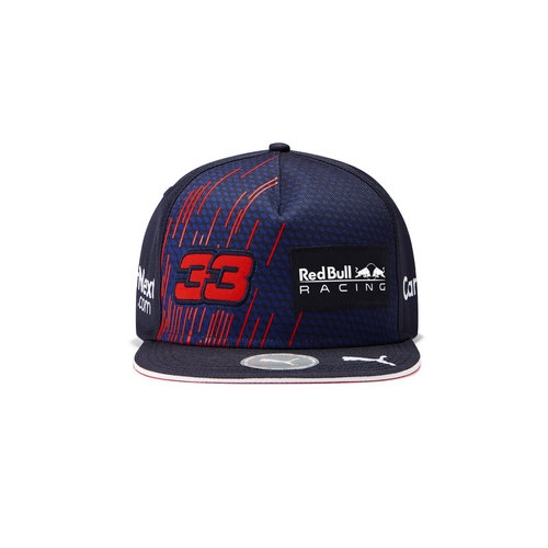 Red Bull Racing Red Bull Racing Max Verstappen Cap 2021 Platte Klep