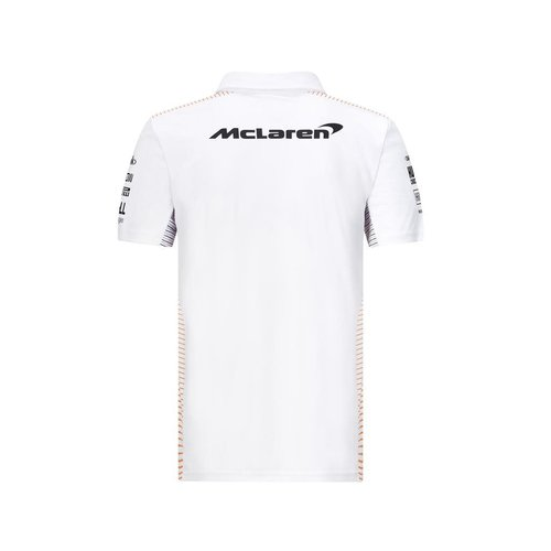 MCLaren MCLAREN RP Mens Team Polo 2021 wit