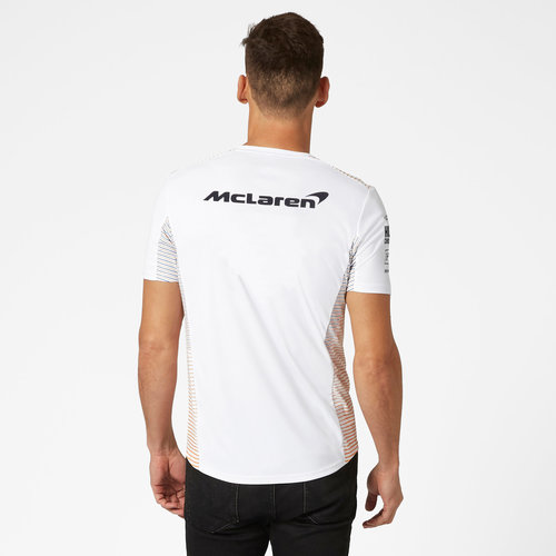 MCLaren MCLAREN RP Mens Team T-shirt 2021 wit