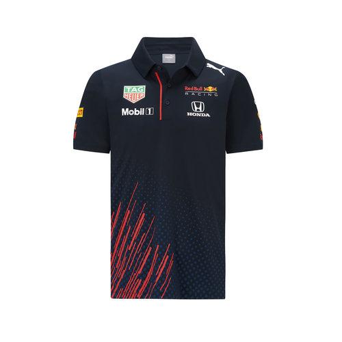 Red Bull Racing Red Bull Racing Teamline Kids Polo 2021
