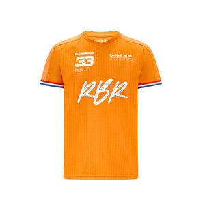 Red Bull Racing Red Bull Racing kids oranje shirt 2021