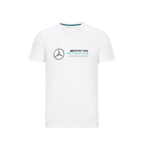 Mercedes Mercedes Logo T-shirt wit 2021