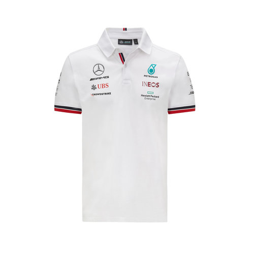 Mercedes Mercedes Teamline Polo 2021 Wit