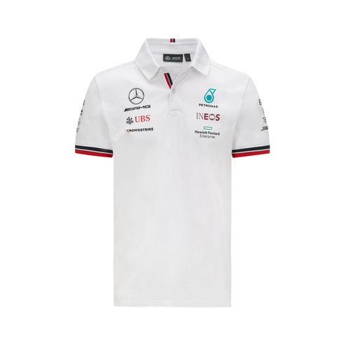 Mercedes Mercedes Teamline Polo 2021 Wit