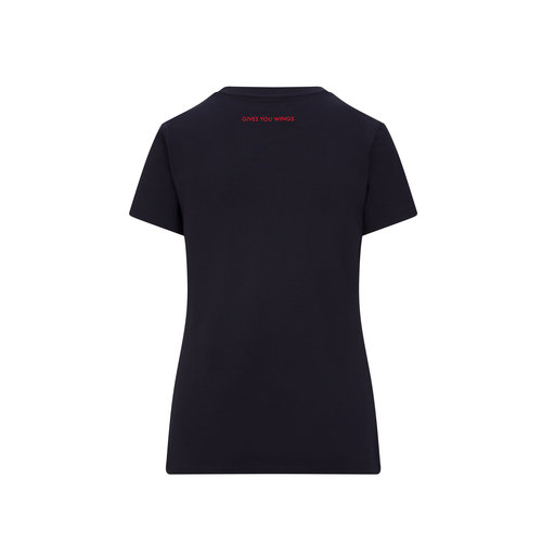 Red Bull Racing Red Bull Racing Logo t-shirt dames blauw 2021