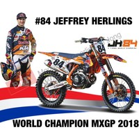 Ktm 450 SX-F #84 JEFFREY HERLINGS (DUTCH RIDER) 1:6 Maisto
