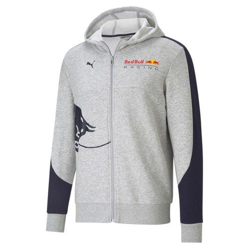 Red Bull Racing Red Bull Racing Hoody grijs Blue Bull 2021