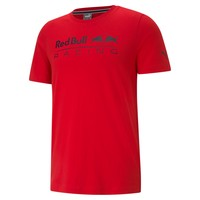 Red Bull Racing logo T-shirt Rood 2021 Puma