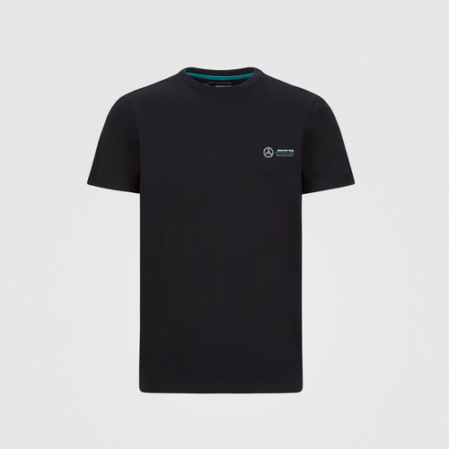 Mercedes Small Logo T-shirt Zwart